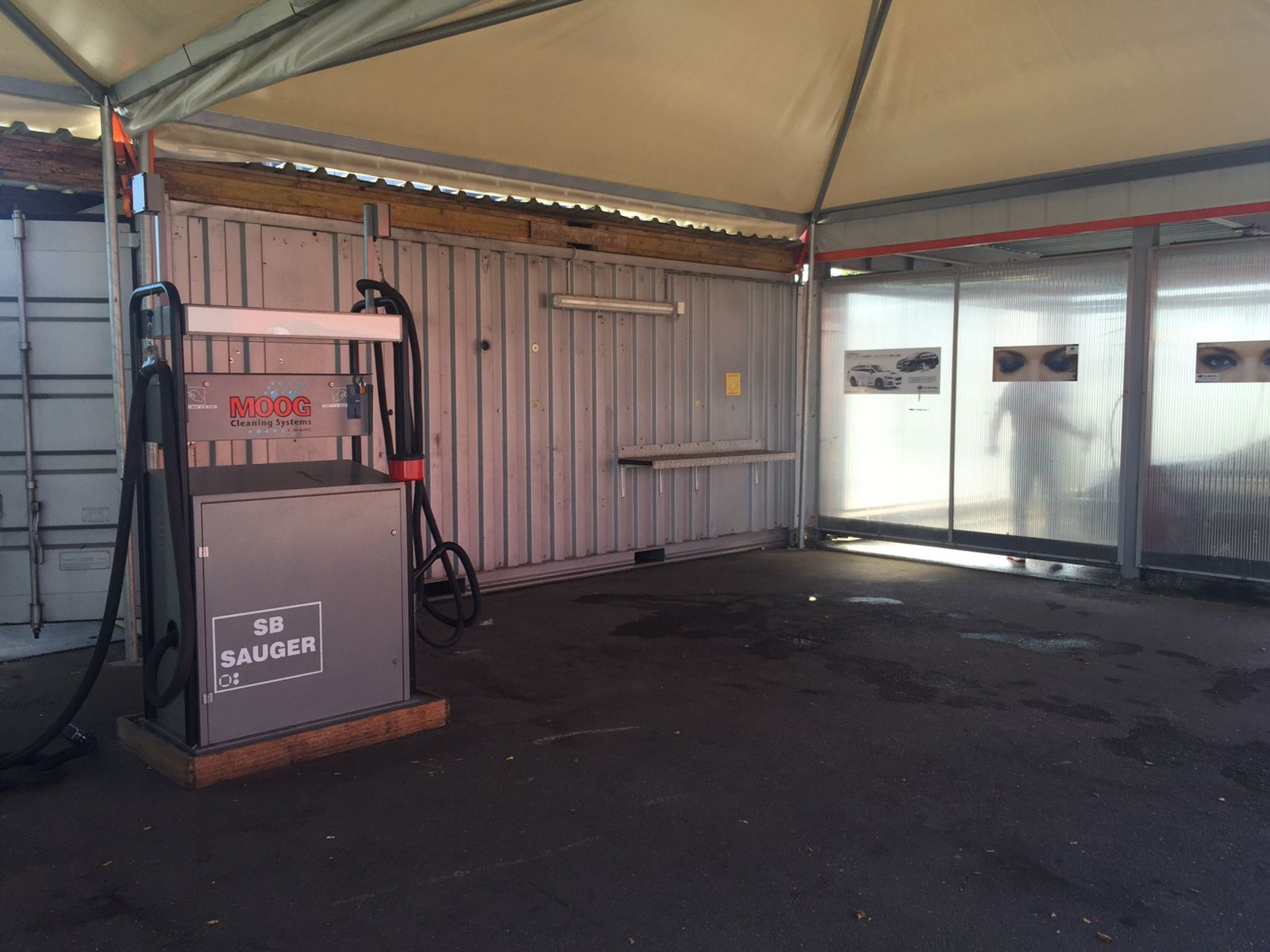 Waschanlage Allemann Automobil AG Wiedlisbach