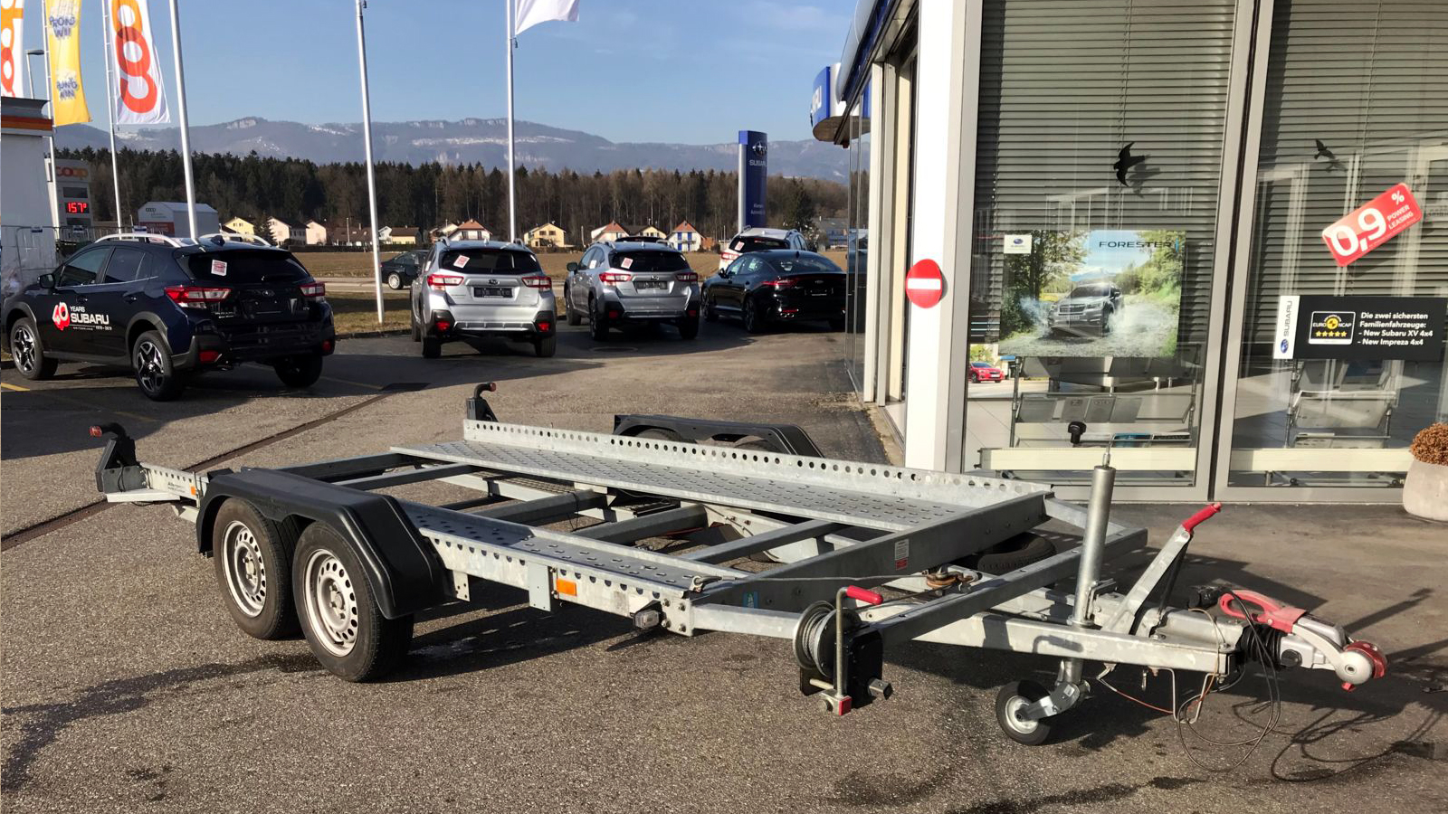 Mietanhänger Allemann Automobile