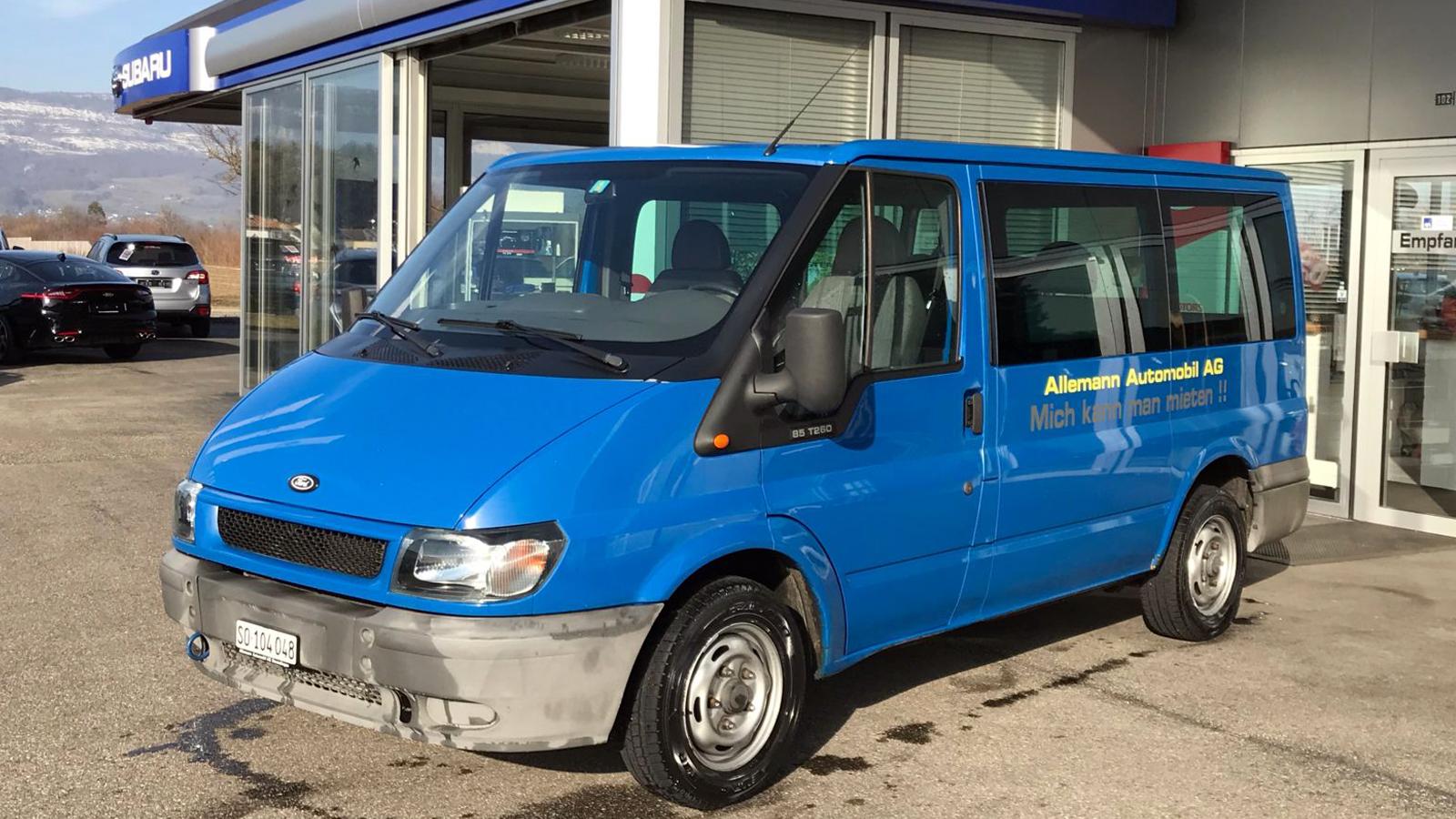 Mietfahrzeuge Personentransport Allemann Automobile