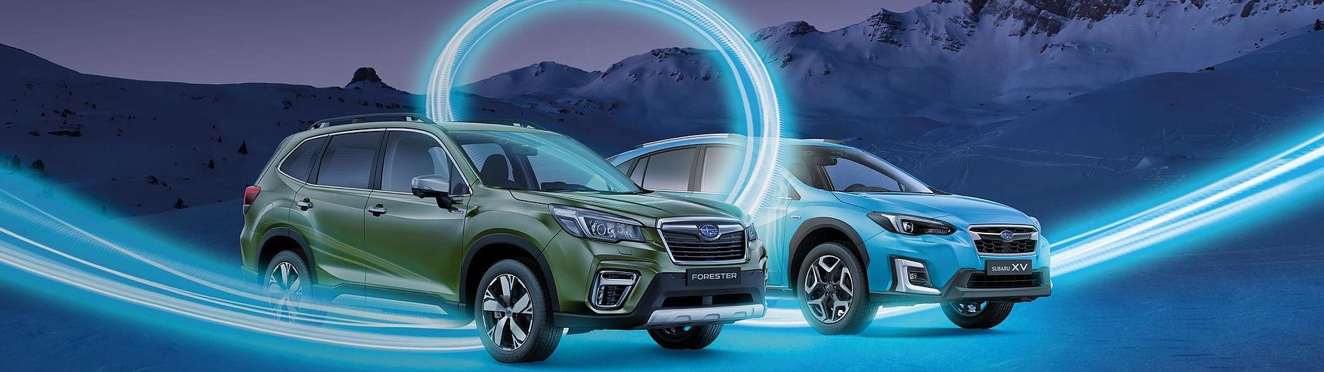 Subaru Forester und XV E-BOXER Hybrid
